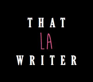 That LA Writer emblem