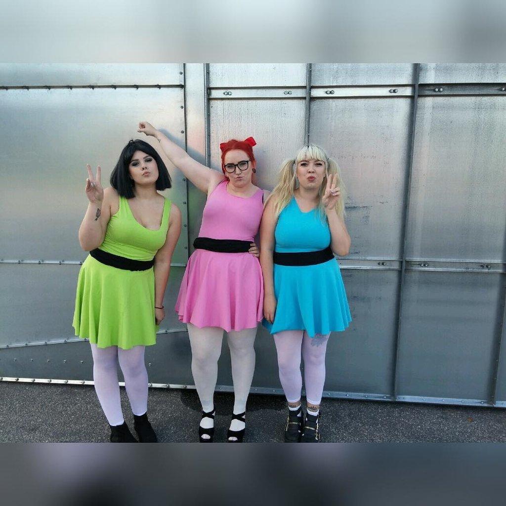 pics for gt powerpuff girls tutu costumes